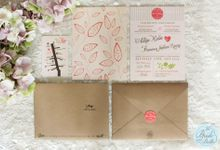 INVITATION - when rustic meets coral by The Bride and Butter
