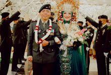 Wedding Of Defri &  Anjani by Sonokembang Catering
