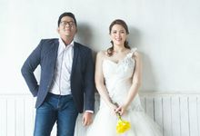 Raymond and Elly by CG Makeup & Hair