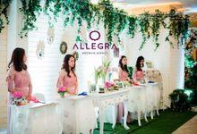 Usher Wedding at Hotel Shangrila by Allegra Wedding Agency