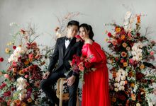 The Indoor Prewedding of Andree & Selly by Claise Photography
