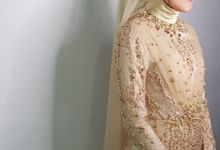 Reception Dress for Catri by Arthaputri Atelier