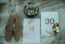 Denis & Angel, Blessing Ceremony & Reception by Andie Oyong Project