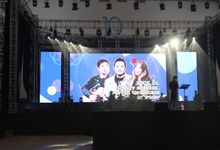 LED SCREEN - INDONESIA GOSPEL FESTIVAL 2017 by Chroma Project