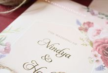 Nindya & Hadi by Vinas Invitation
