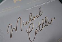 Michael & Cathlin by Vinas Invitation