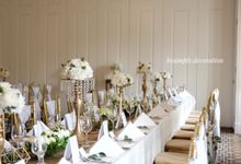L & D wedding by Bysimply decoration