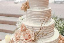 The Wedding of Ivan & Stephanie by KAIA Cakes & Co.