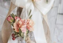 Preserved Wedding Bouquet of David Ameria by CONSERVÉ FLOWER PRESERVATION