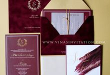 Swasti & Farmin by Vinas Invitation