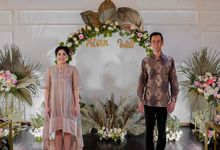 The Engagement of Alvin & Witi by Calysta Sangjit Decoration
