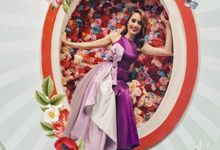 Cinta Laura for Oppo Campaign by Vica Wang