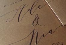 Ade & Nia by Vinas Invitation