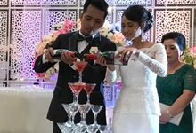 Green Theme Wedding by Haka Restaurant
