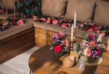 Joanna's  Tropical Bachelorette Party! by Silverdust Decoration