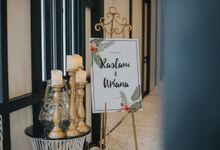 Arianna & Raslam Solemnization by Avicenna Studio