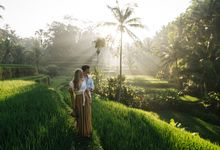Engagement Photo Shot - Rice Terraces Tegalalang by Suta Rahady Photography