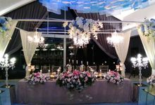 Bridal Table Centerpiece by Le Meridien Bali Jimbaran
