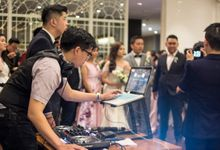Wedding Reception of Calviana & Marshiela by DJ Perpi
