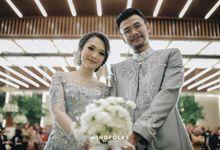 The Wedding of Rizal & Amiko by  Menara Mandiri by IKK Wedding (ex. Plaza Bapindo)