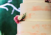 Wedding Cake - Indra & Livia by Lareia Cake & Co.