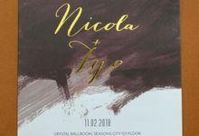 Nicola & Tyo by Galeri Vinni
