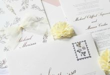 Michael & Merissa by Vinas Invitation