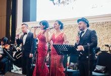 Wedding of Eric & Youli by Hanny N Co Orchestra