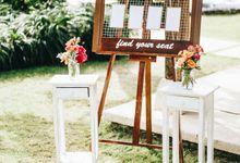 Wedding Decoration of Joshua & Natalie by Zoe Photo