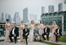 The Wedding Of Yonas And Priska by Phantasia Organizer