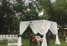 Wedding at Kunstkring Garden by Tugu Kunstkring Paleis