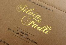 Silvia & Fadli by Galeri Vinni