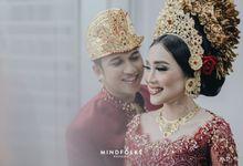 Balinese Wedding of Bayu & Diah by  Menara Mandiri by IKK Wedding (ex. Plaza Bapindo)