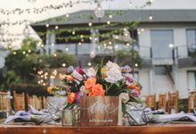 Tropical Lush Wedding in Bali by Silverdust Decoration