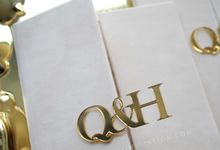 Qutaiba & Hevi by Vinas Invitation