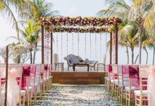 Romantic Indian Wedding at Jeeva Sabbah Villa by Silverdust Decoration