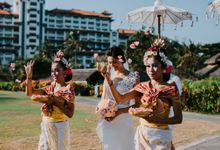 Wiwaha Beach Wedding by Hilton Bali Resort