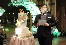 Wedding of Britzman & Cellina by JIMMY & LIECHEN MC and Magician Wedding Specialist