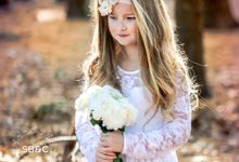 Flower Girl Dress by Sixpence Boutique & Co