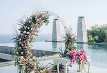 The Wedding of  Lee Hua Ling & Lee Yuet Lii at Banyan Tree by Red Gardenia