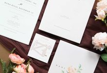 Hani & Buna by Vinas Invitation