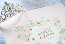 Marcel & Ratih by Vinas Invitation