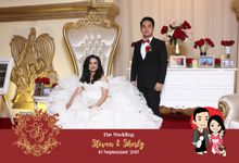 Steven & Sherly by Twotone Photobooth