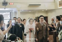 Holy Matrimonity of Setiawan & Cynthia by Skenoo Hall Emporium Pluit by IKK Wedding