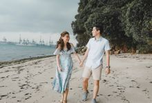 Romantic Beach - Pre-Wedding Shoot by Arieltistry
