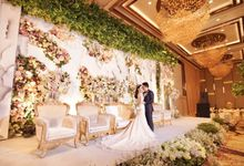 The Wedding of Al & Gratia by Finest Organizer