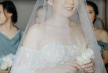 The Beautiful Wedding of Siever & Zico by Aveda Footwear