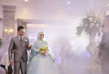 The Wedding of Nurul & Edo by Rajawali Grand Ballroom