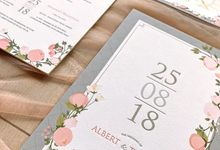 Albert & Theresia by Petite Chérie Invitation