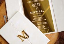 Michael & Julie by Vinas Invitation